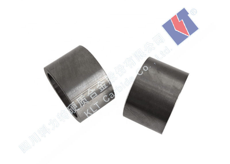Polished Surface Water Pump Bushing Carbide Components Long Service Life