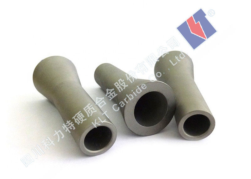 100% Virgin Tungsten Carbide Nozzle For Dry / Wet Blasting Long Using Life